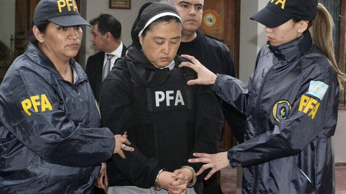 La monja Kumiko Kosaka está detenida desde 2017