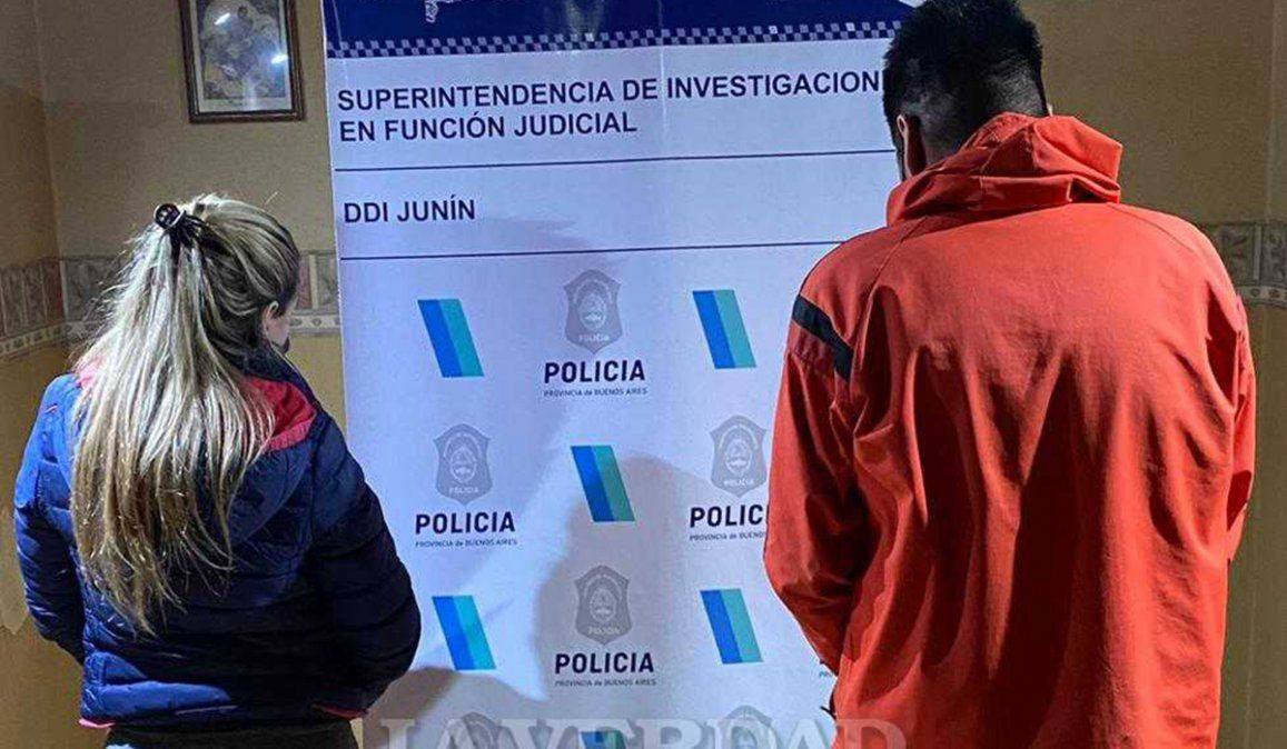 La pareja que fue detenida por asesinar a un hombre dentro de su autio en el ex Vivero Municipal de Junín