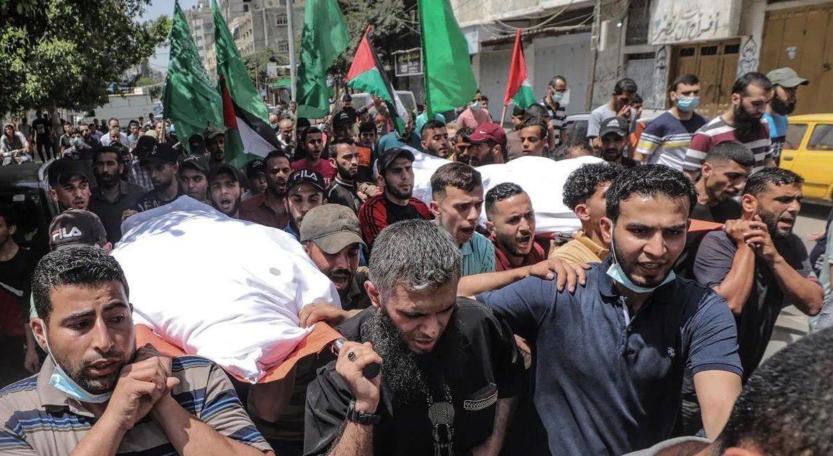 La cifra de muertos sigue aumentando cada día tras los ataques de israelíes y palestinos
