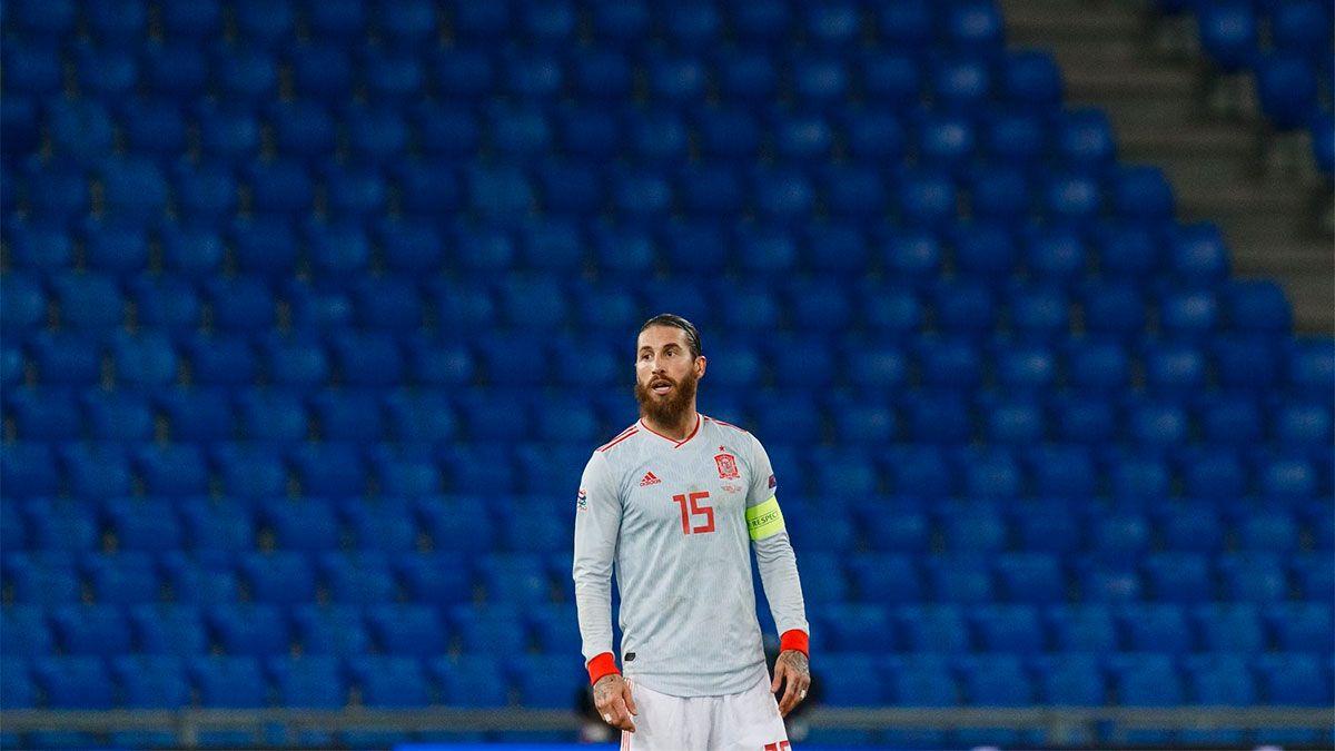 Sergio Ramos se descargó en las redes tras su noche negra