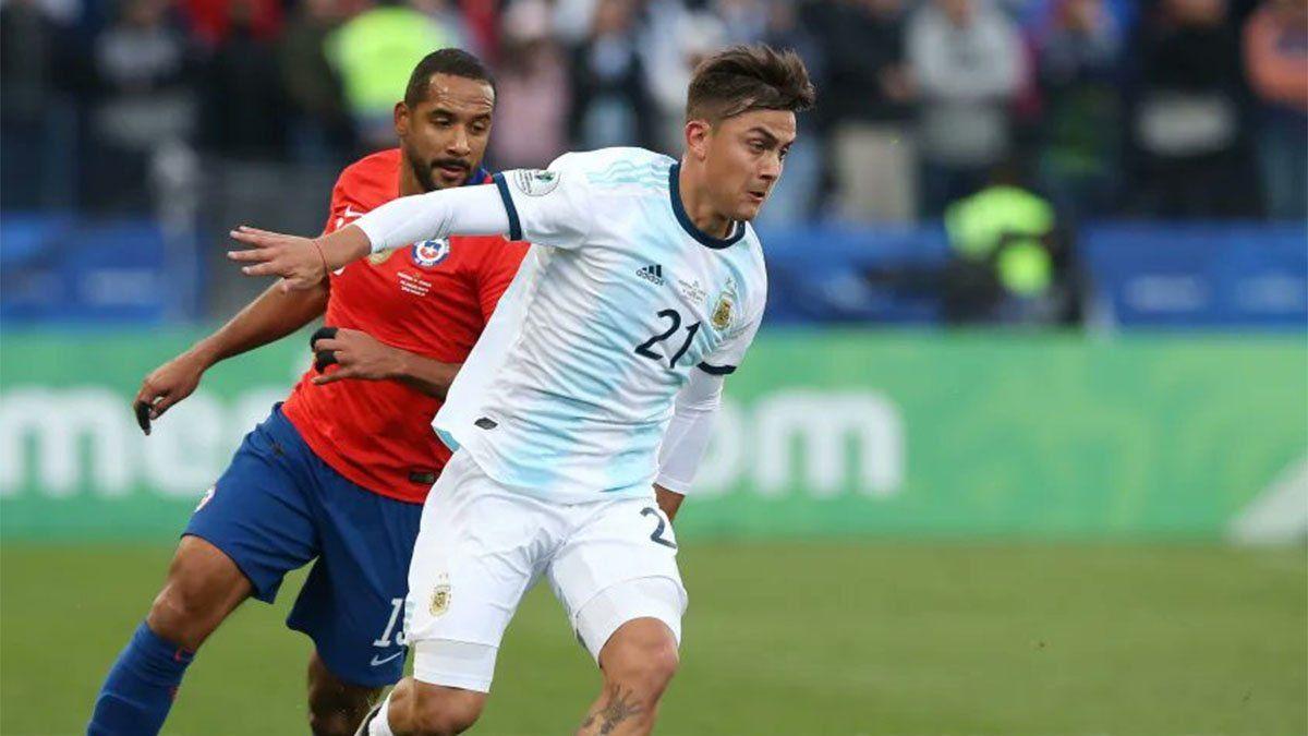 Paulo Dybala se quedó afuera de la Selección Argentina
