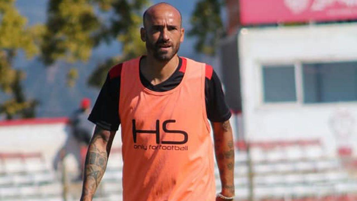 El experimentado Leonel Toti Ríos es uno de los jugadores que llegó a Huracán Las Heras.
