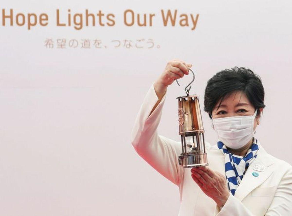La gobernadora de Tokio, anfitriona de los Juegos Olímpicos.