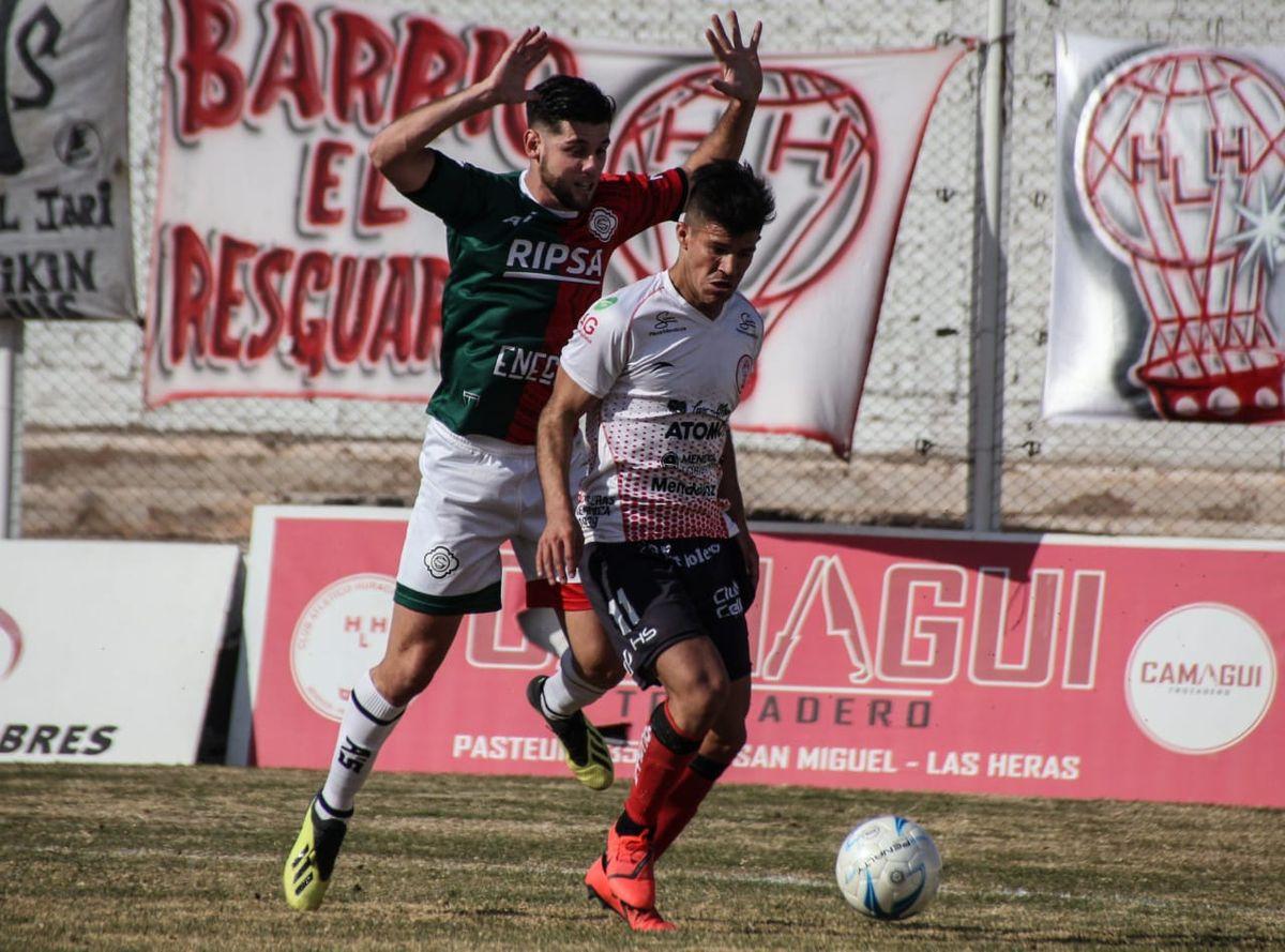 Huracán Las Heras lleva 8 partidos sin ganar en el Torneo Federal A.