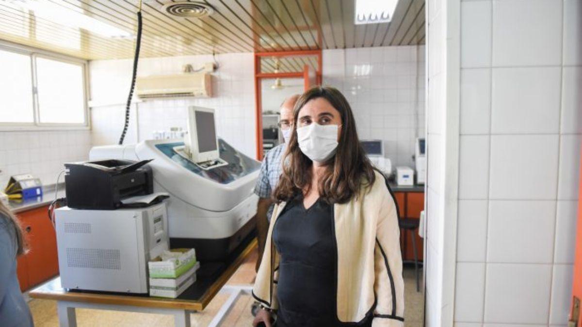 La ministra de Salud Ana María Nadal