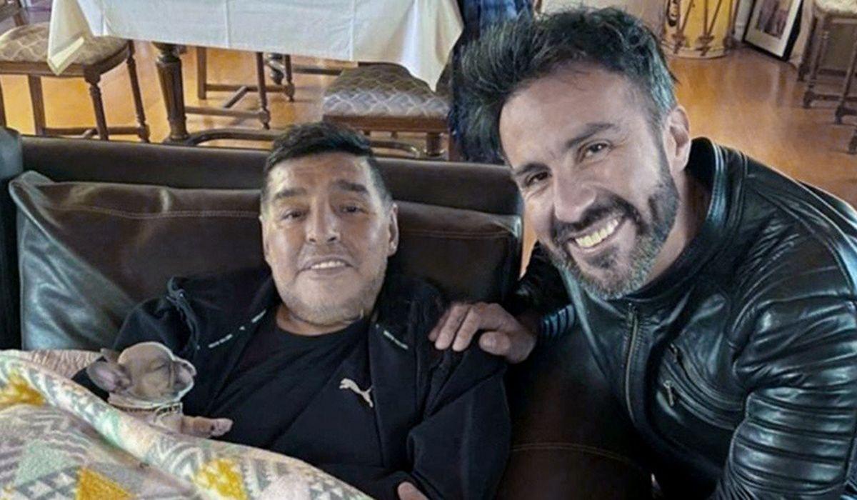 El médico Leopoldo Luque quien atendió a Diego Maradona