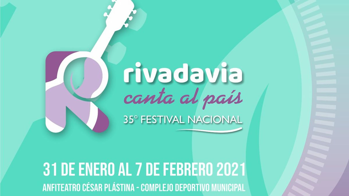 Presentaron el 35° Festival Nacional Rivadavia Canta al País