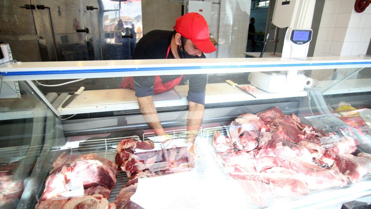 La carne en la última semana de noviembre registró un incremento de 3