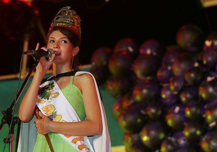Lavalle eligió a una estudiante de arquitectura como su reina
