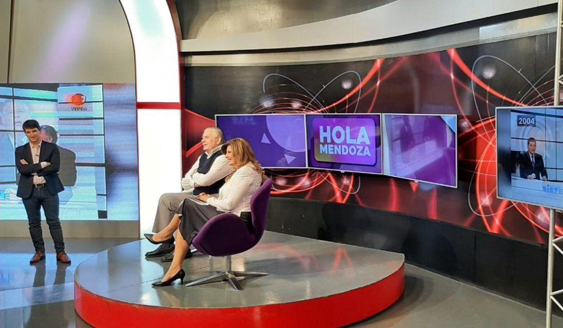 Laura Carbonari y Marcelo Romanello fueron los 2 invitados de Hola Mendoza