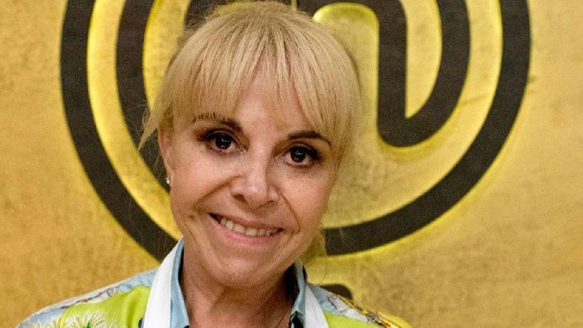 Claudia Villafañe volvió a grabar a los 2 días del fallecimiento de Diego Maradona.