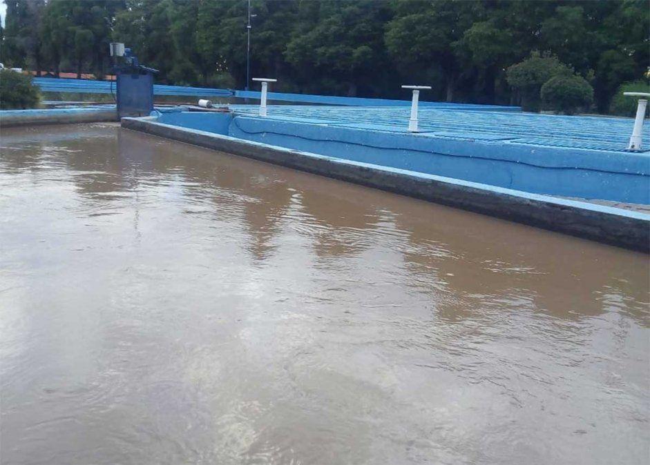 Desde Aysam informaron que las tormentas afectaron el normal abastecimiento de las plantas potabilizadoras