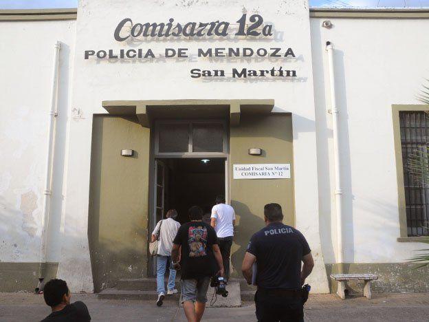 La Comisaría 12 de San Martín intervino en el hecho.