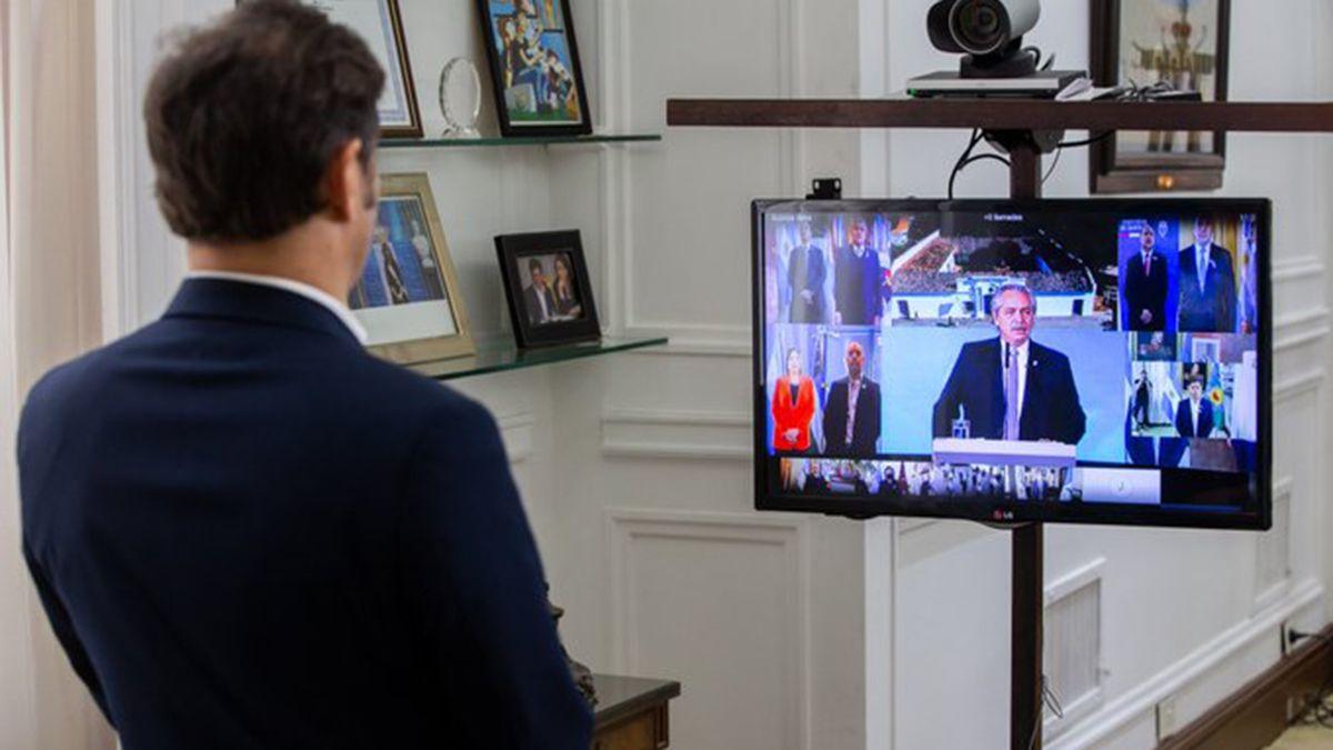 Axel Kicillof no fue candidato a gobernador por decisión de las fuerzas políticas bonaerenses