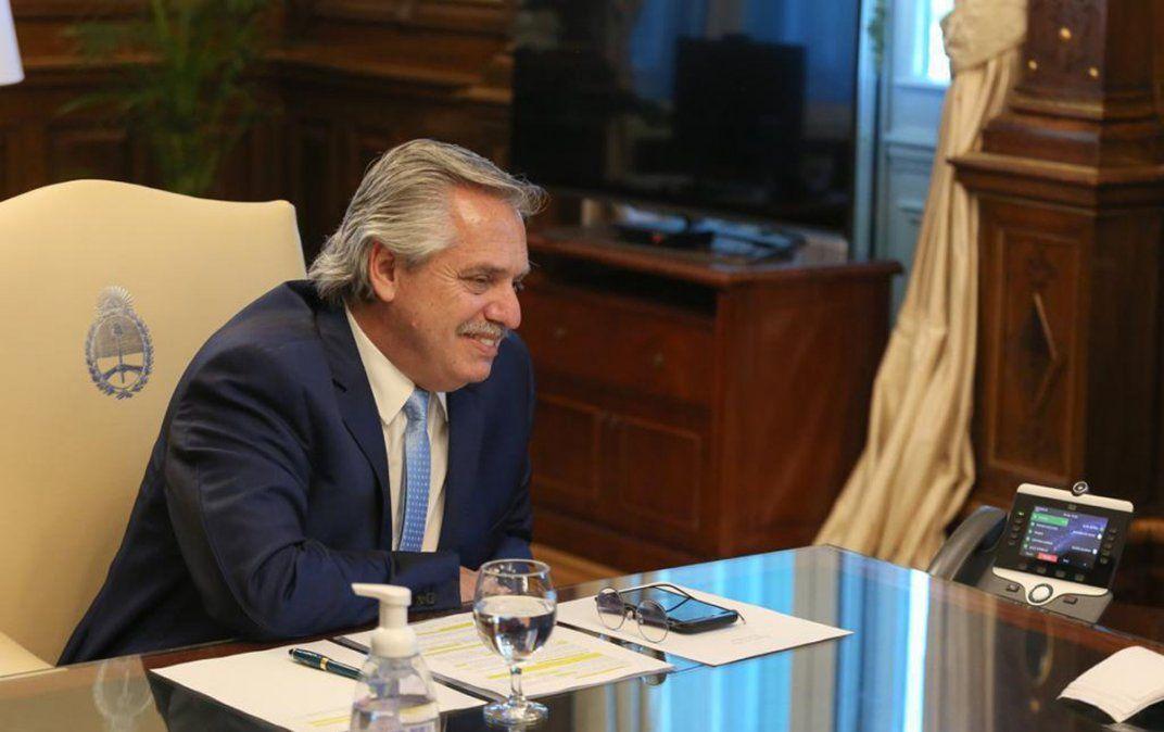 Mutuas promesas entre Alberto Fernández y Joe Biden