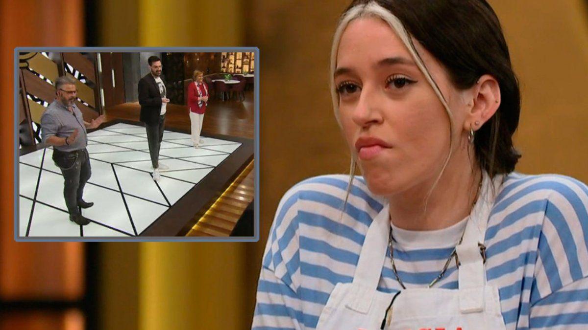 Leticia Siciliani lloró y explotó contra el jurado de Masterchef Celebrity: Me hincharon las bolas