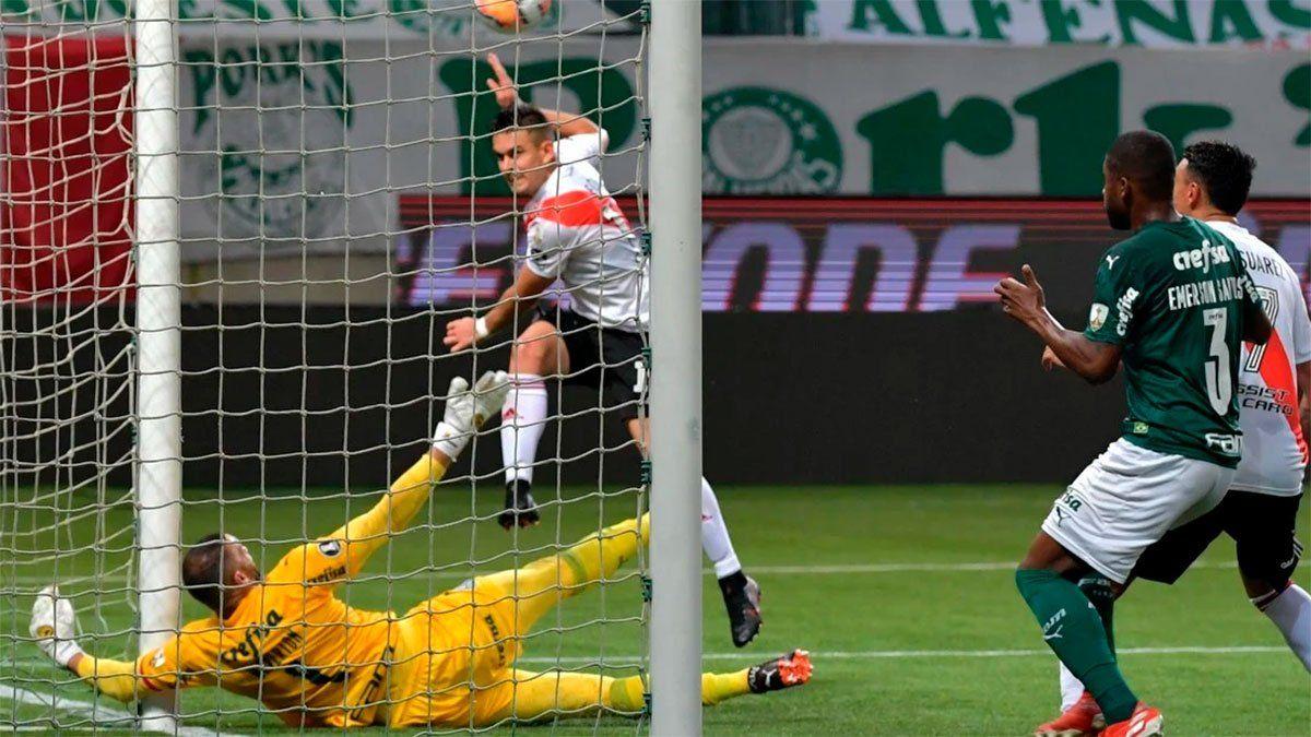 River: Palmeiras se bajó de las negociaciones por Borré