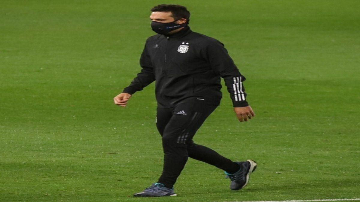 Lionel Scaloni prepara el partido con Bolivia