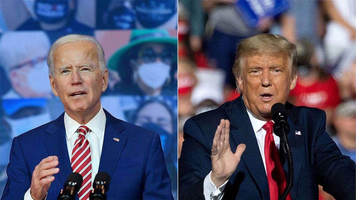 Joe Biden a seis electores de convertirse en el 46º presidente tras las elecciones en Estados Unidos; Donald Trump pide frenar el conteo y denuncia fraude.