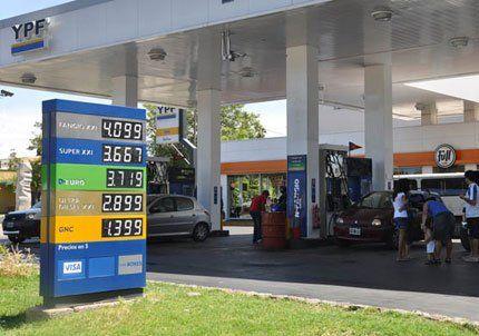Las naftas de mayor octanaje superaron la barrera de los $4