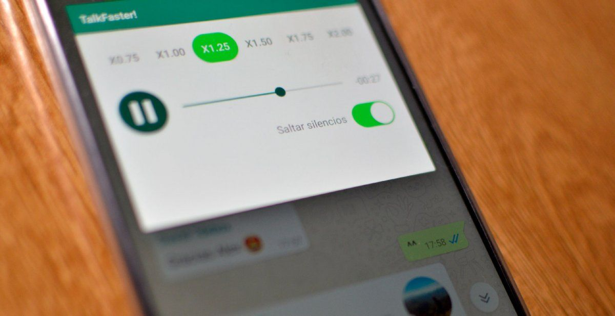 Tecnología. WhatsApp: cómo acelerar los mensajes de audios largos.
