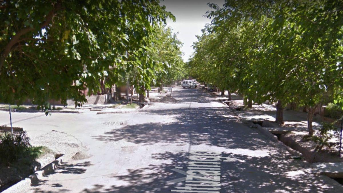En la esquina de Ituzaingó e Isla Coronación