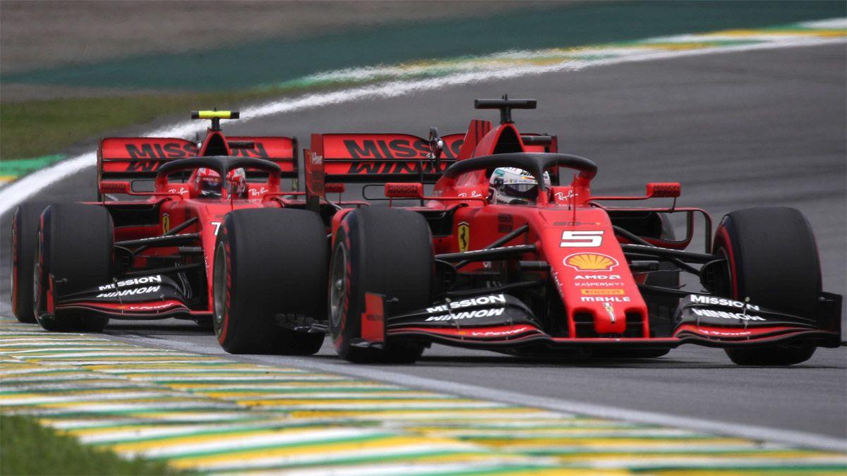 Ferrari y una tormenta que preocupa en la F1