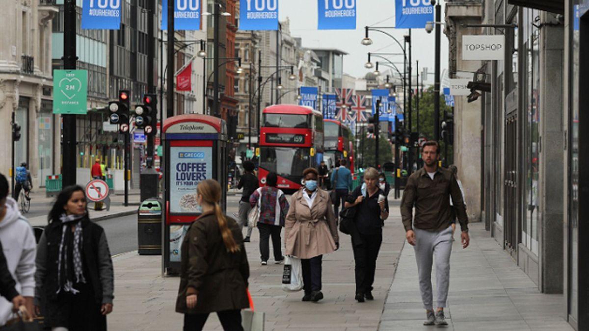 Londres ha sufrido un duro impacto por el coronavirus.