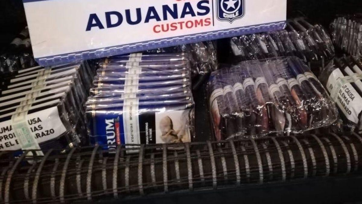 El contrabando era generalmente de tabaco. Foto: Andes Online.