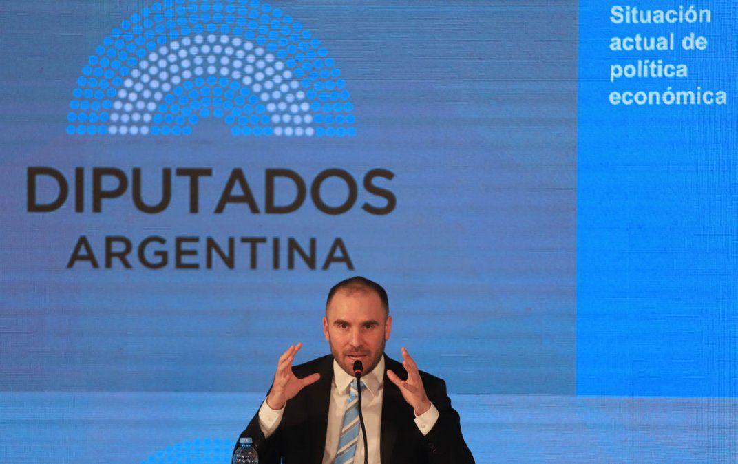 Martín Guzmán. Al ministro se le escapó sarasear.
