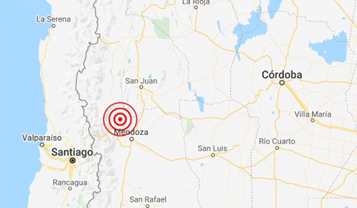 Se detectó un temblor en Mendoza