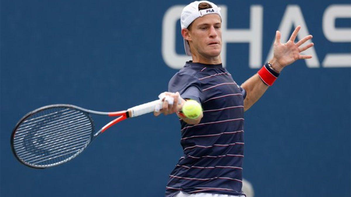 Diego Schwartzman perdió en su debut en el US Open.