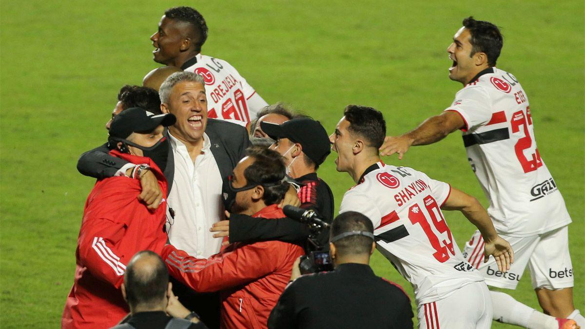 Crespo sacó campeón al San Pablo y hace historia en Brasil