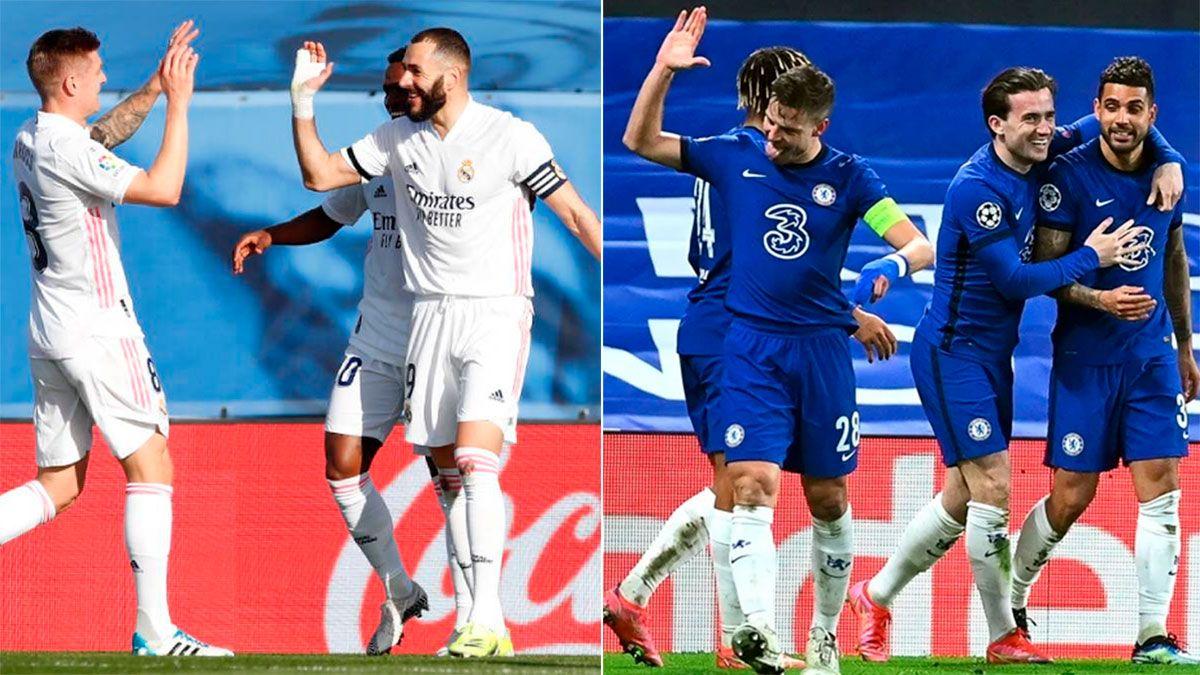 Real Madrid vs. Chelsea, por Champions League: hora y TV