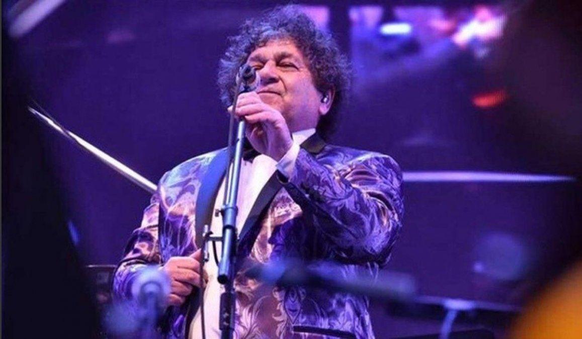 El cantante de Los Palmeras tiene coronavirus