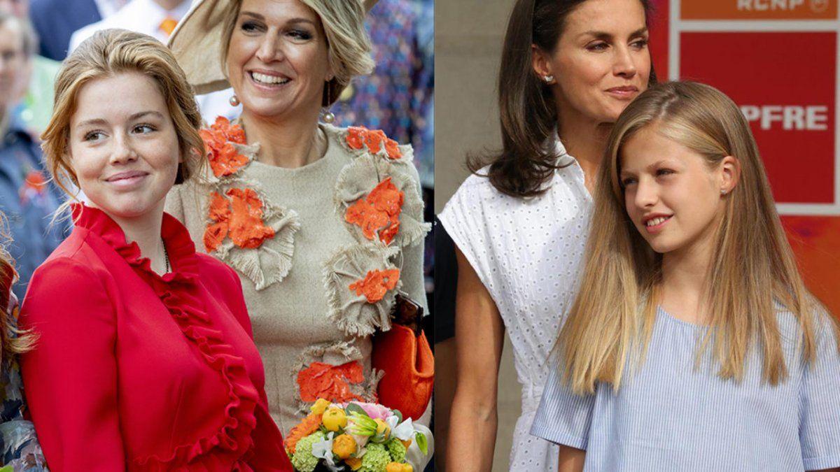 La Reina Letizia no quiere que la princesa Leonor sea amiga de Alexia