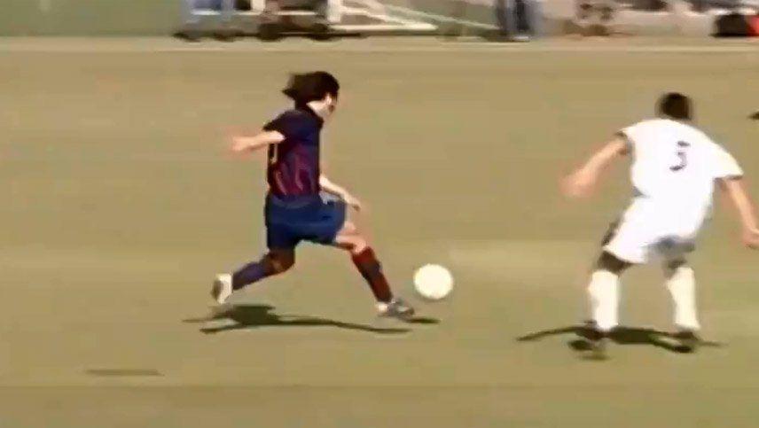 El Barcelona cautivó a sus fanáticos con un video inédito de Leo Messi