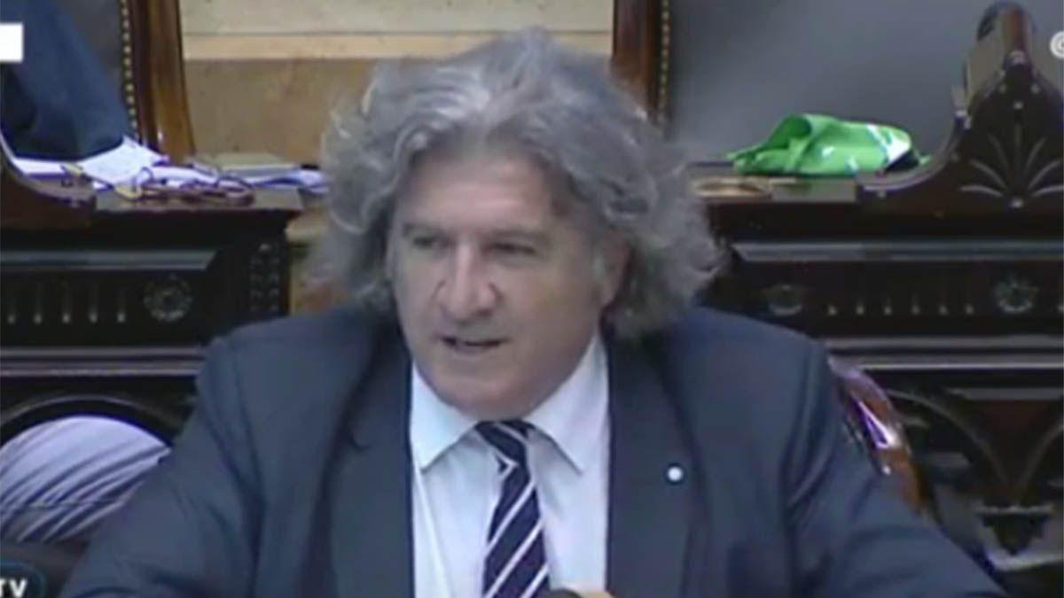 José Luis Ramón adelantó su voto en contra del aborto legal