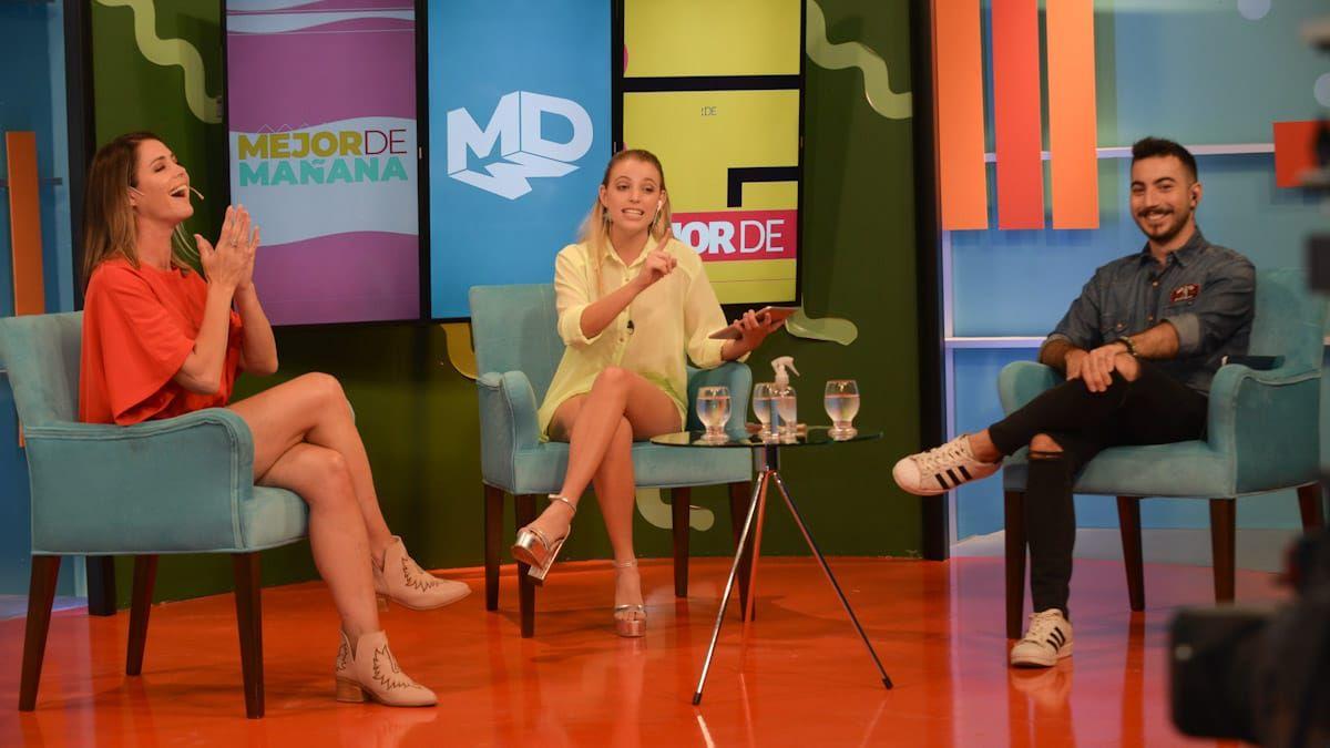 Pamela David fue entrevistada en Mejor de Mañana. Foto: Martín Pravata