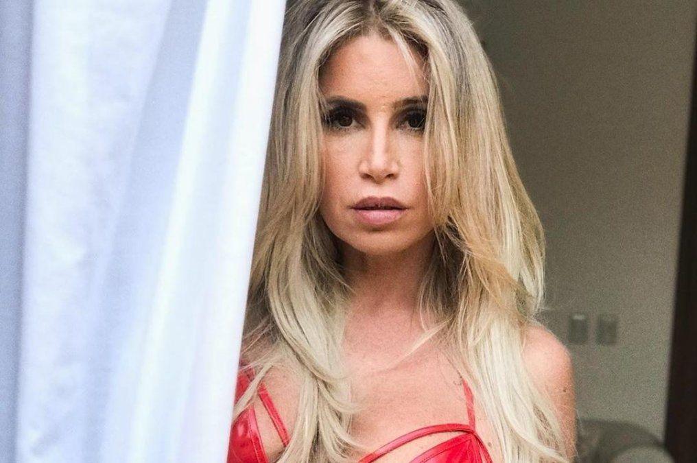 Flor Peña revolucionó las redes con una foto infartante.