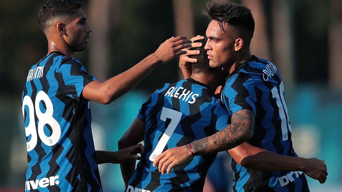 Lautaro Martínez marcó dos golazos y el Inter ganó