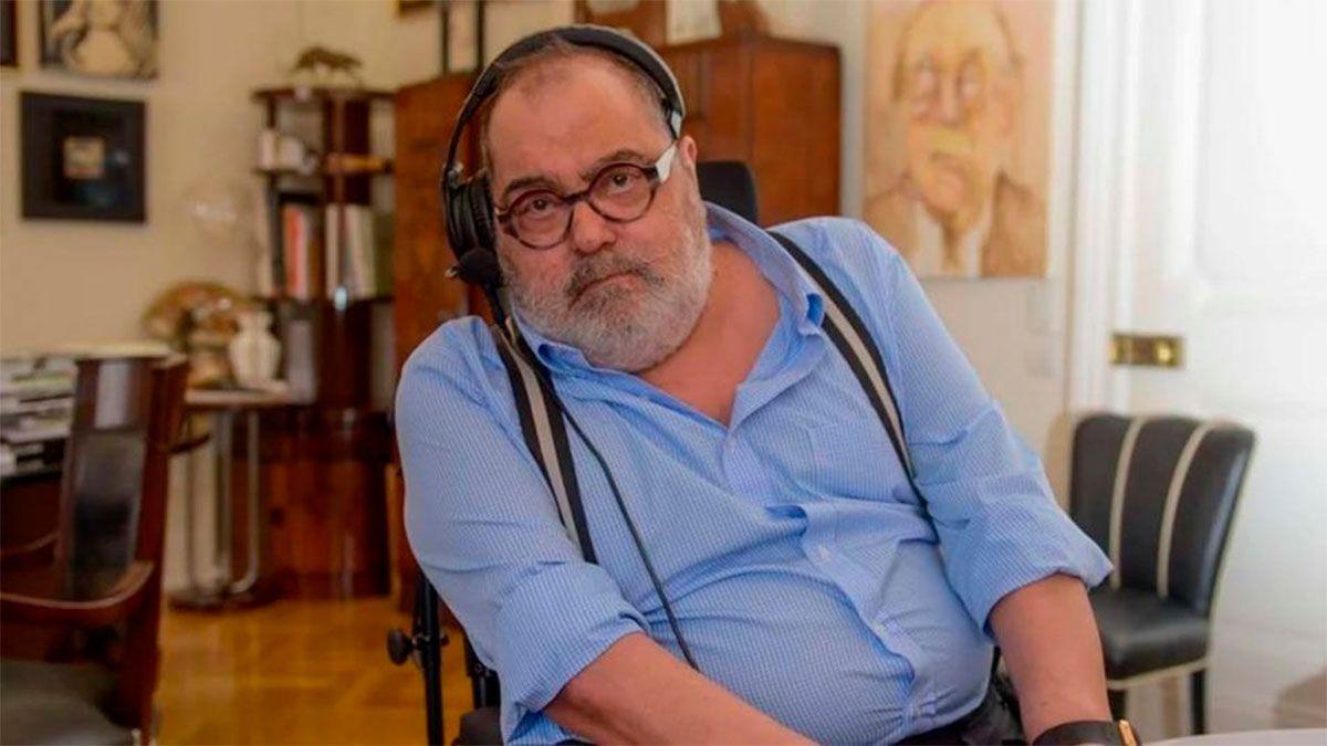 Jorge Lanata fue internado de urgencia en Miami