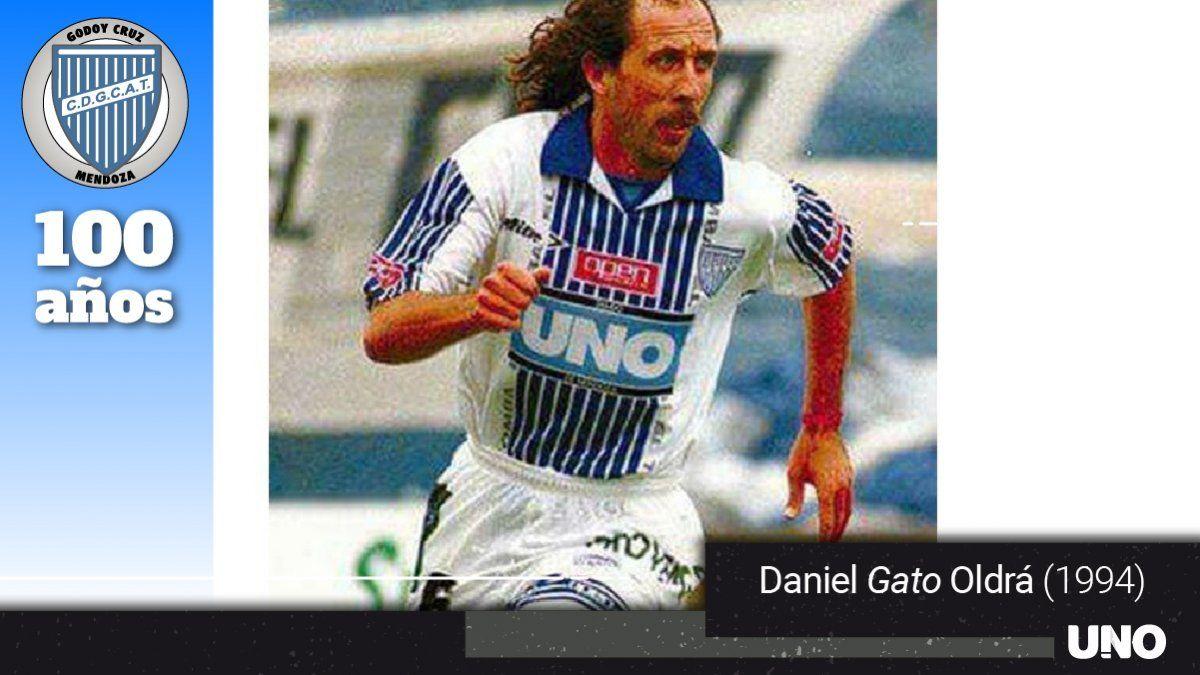 Oldrá estaba en su época de jugador. Fue uno de los líderes del Expreso en el 94.