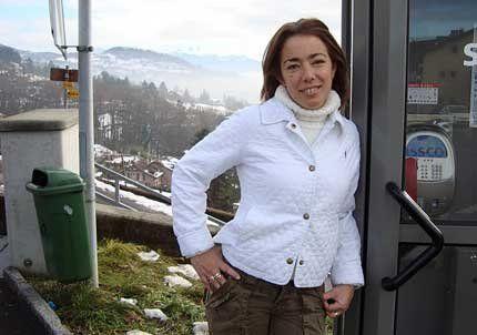 Patricia Aranda desde Suiza