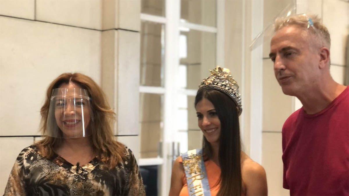 Marley y Lizy Tagliani visitan Mendoza para su programa de televisión