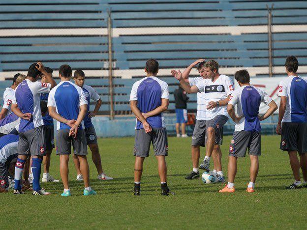 Palermo ya tiene en mente el equipo que jugará ante San Martín