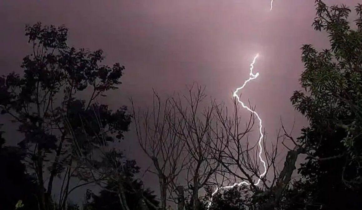 Pronóstico del tiempo: alerta meteorológica por tormentas en Mendoza