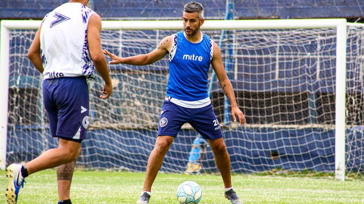 El entrerriano Yair Marín fue convocado para el choque ante Belgrano.