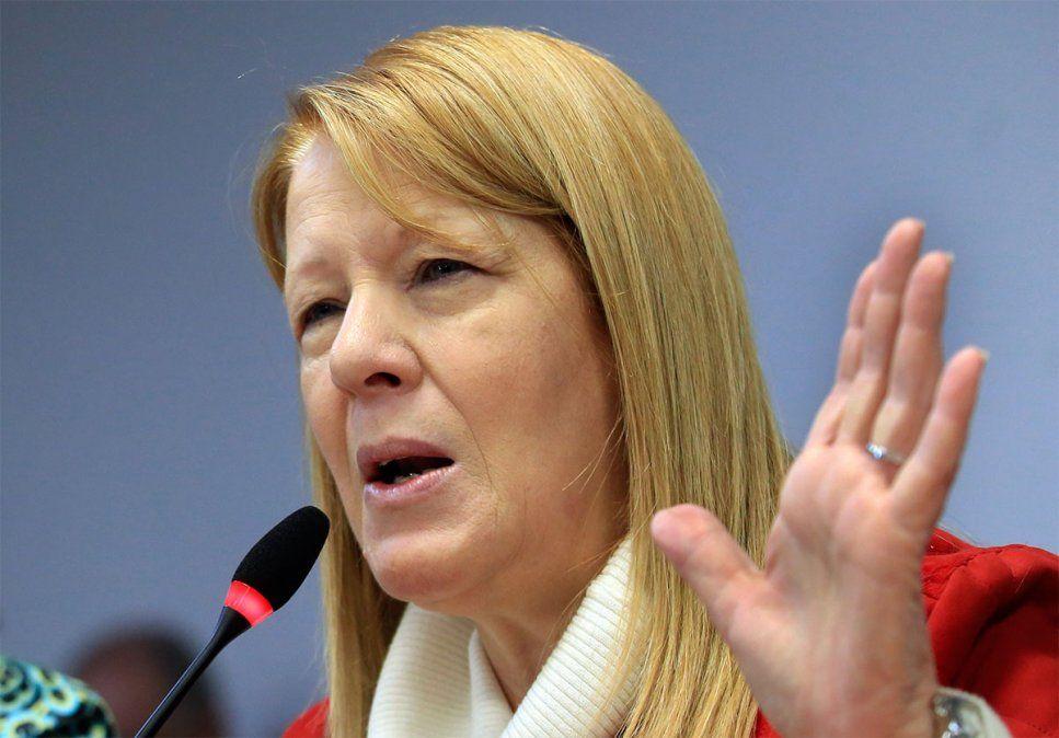 La ex diputada nacional y líder del GEN