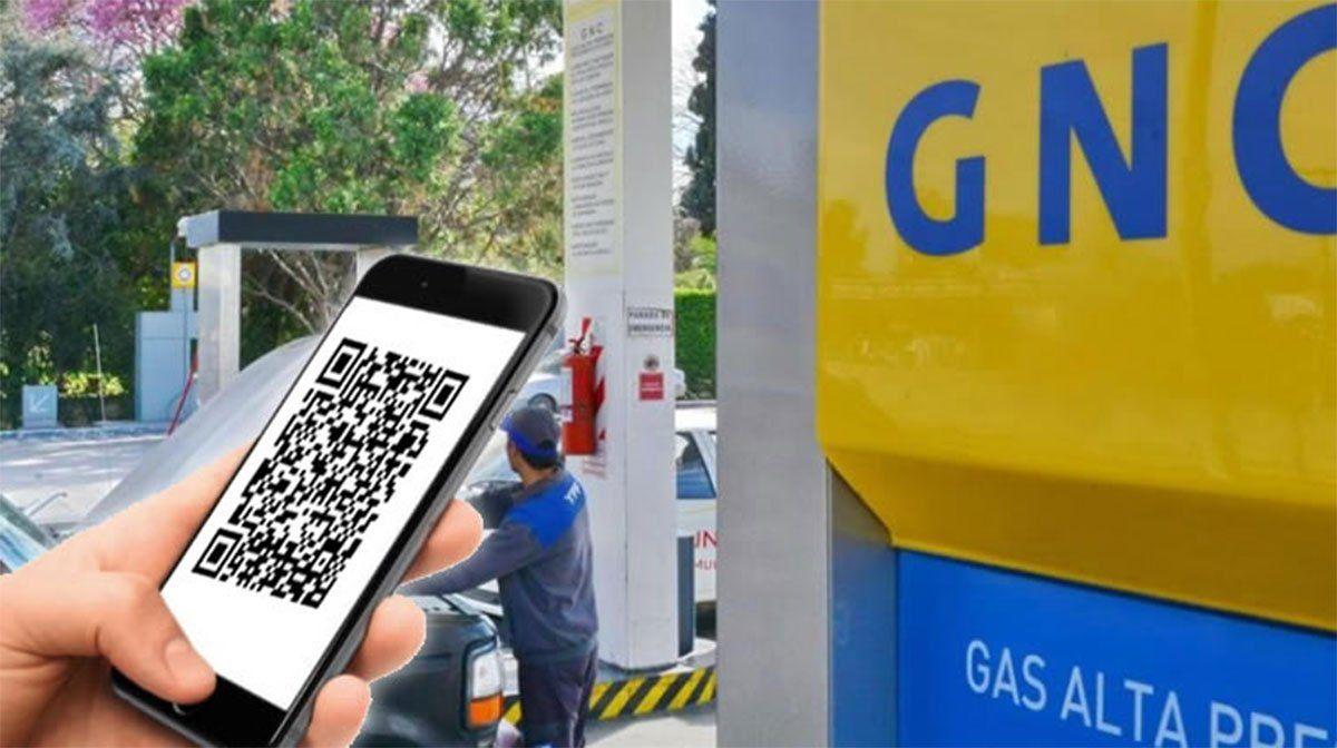 Enargas autorizó este lunes la implementación en las Estaciones de Carga de GNC la operatoria de pago con código QR a través del teléfono celular.